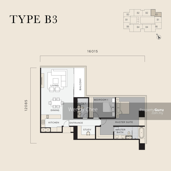 Four Seasons Place Floor plan 141120987