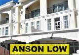 3 Storey Terrace Pantai Jerjak BU 2966sf For Sale - Property For Sale in Malaysia