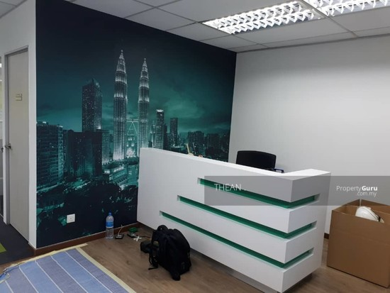 RENOVATED FURNISHED YET CHEAP CORPORATE OFFICE FOR RENT IN PETALING JAYA  143677109