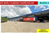 Kampung Baru Subang U6 Shah Alam detached warehouse with CCC for sale - Property For Sale in Malaysia