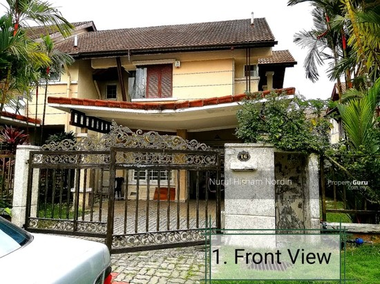 Double Storey End Lot House Bukit Jelutong Shah Alam  147906869
