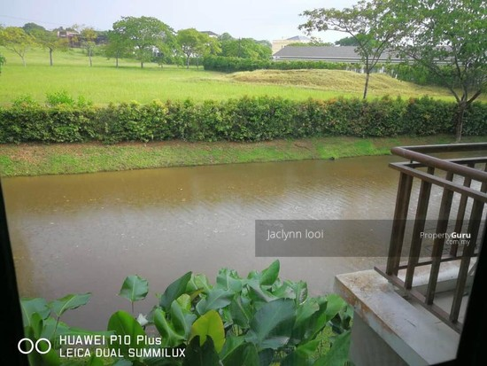 Gelang Patah Bayou water village Behind River  149888715