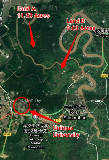 11.33 Acres (Native Land) @ Samarahan Kuching  151209909