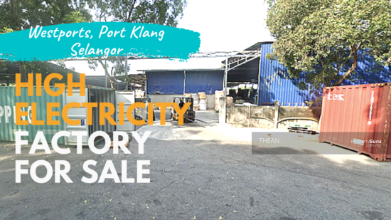 Pulau Indah Industrial Park Factory for sale with tenancy 151321151
