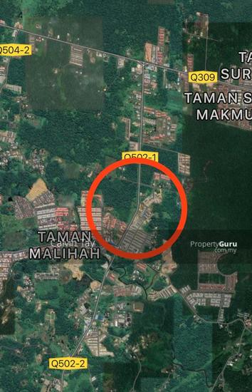 1.729 Acres Land (2nd Lot) @ Jalan Matang, Batu Kawa Kuching  152501402