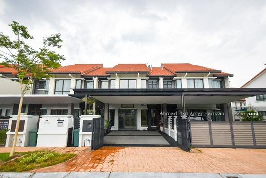 [ FACING OPEN ] Superlink Double Storey Terrace Alam Sari (Iltizam IV) Bangi [ 26x80 ]  154580925