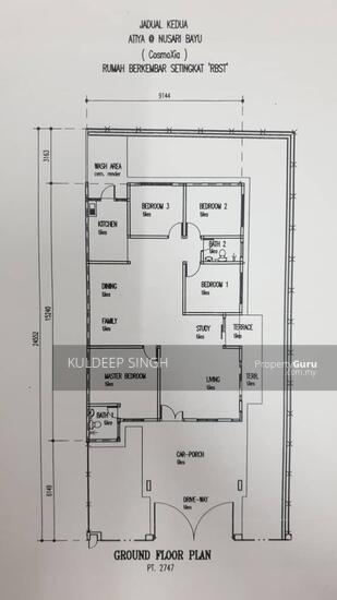 Single storey Semi D Bandar Sri sendayan seremban  157016792
