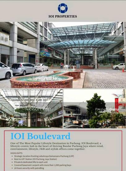 IOI Boulevard Puchong ground floor shop for rent  160602493
