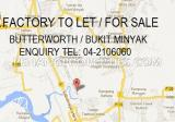 Bukit Minyak factory - 15,000sf land area - Property For Rent in Malaysia