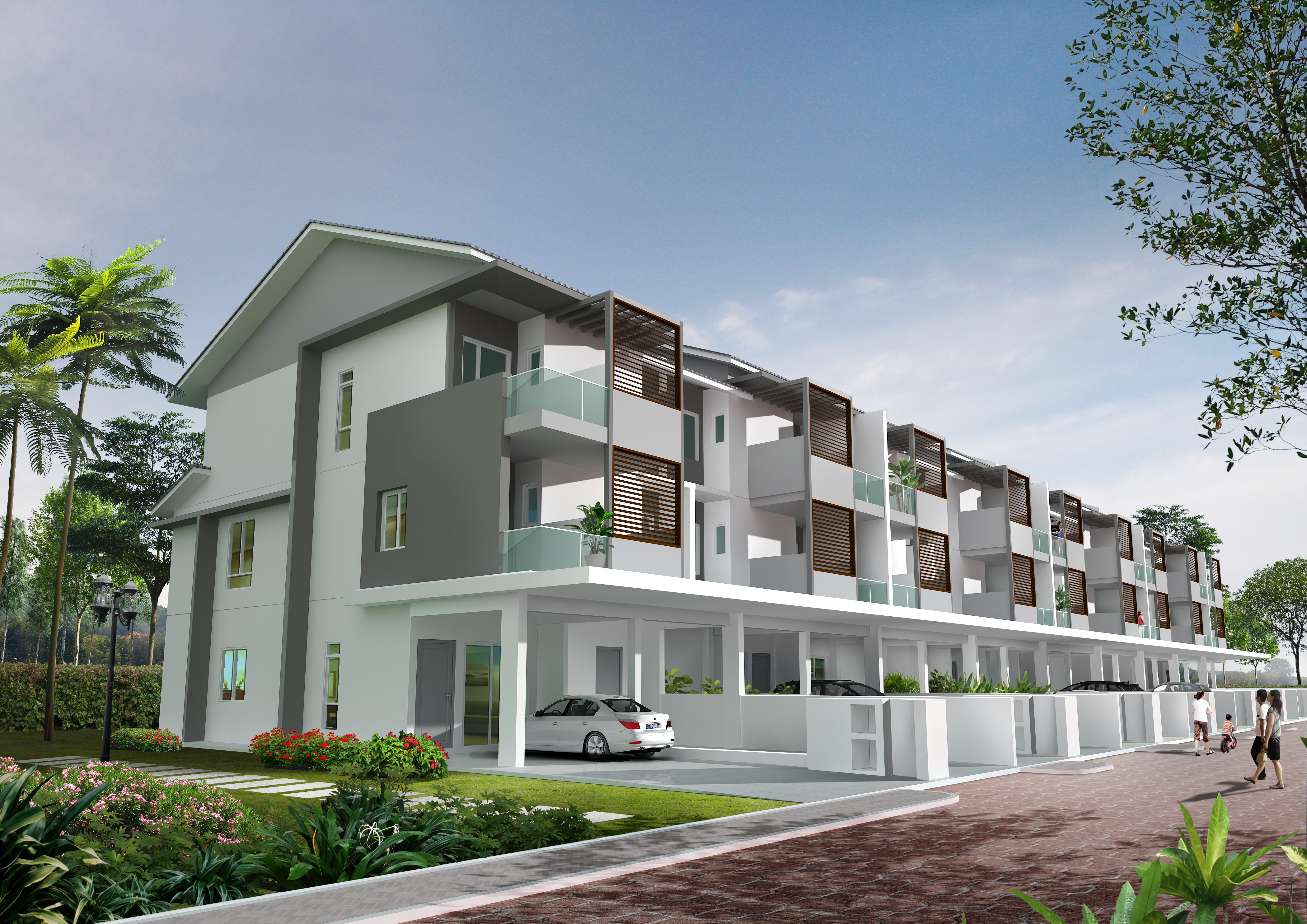 Raintree park 2 pearl city simpang ampat review for Season 2 terrace house
