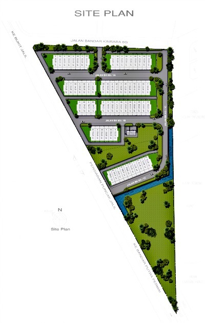 Site Plan Review : Rimbun double storey terrace kinrara review