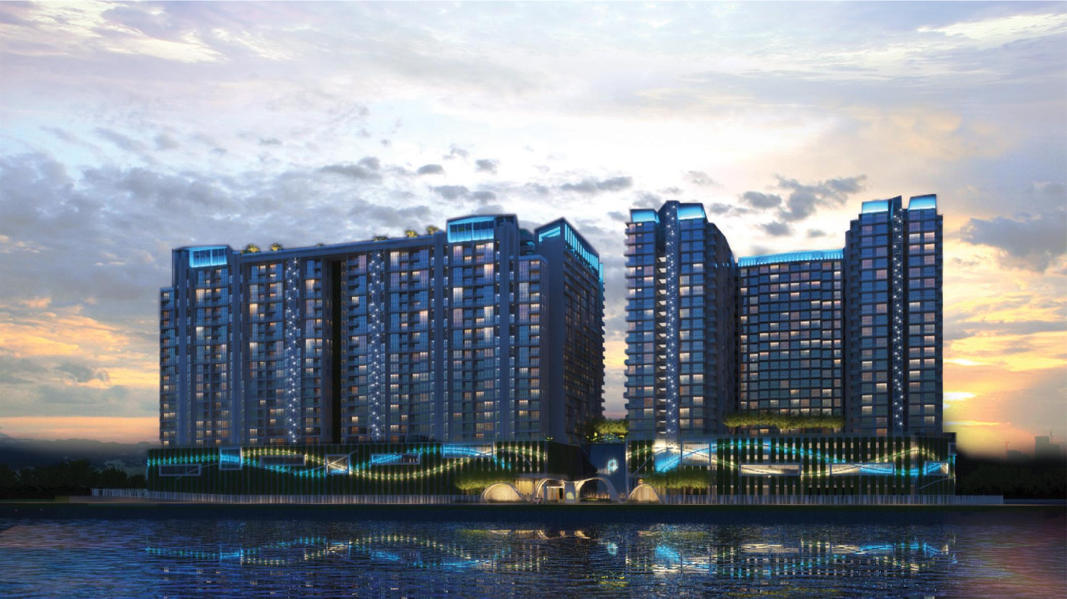 waterfront development in queensbay Queensbay - the only development in penang that encompasses an entirely new  upmarket waterfront development with a gross development.