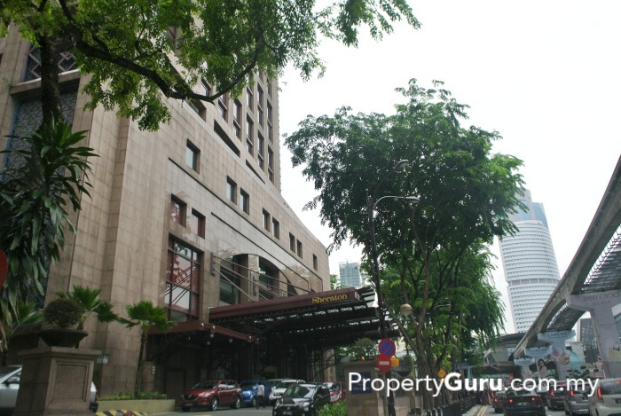 Sheraton Imperial Hotel Sits Opposite Quill City Mall On Jalan Sultan Ismail Located Beside This