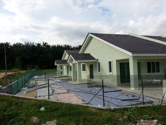 New single storey corner terrace house at taman gading for New terrace house