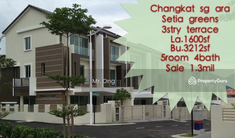 3 storey terrace house at setia greens setia greens for 3 storey terrace house for sale