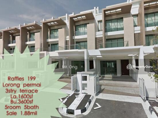 3 storey terrace house at lorong permai raffles199 lorong for 3 storey terrace house for sale