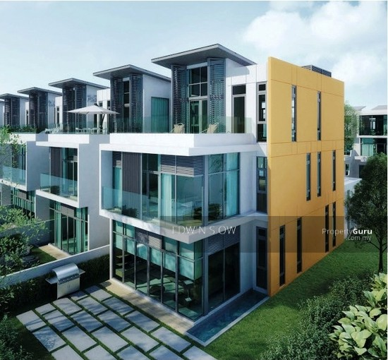 The reed 3 story terrace lake fields sungai besi for Three story house for sale