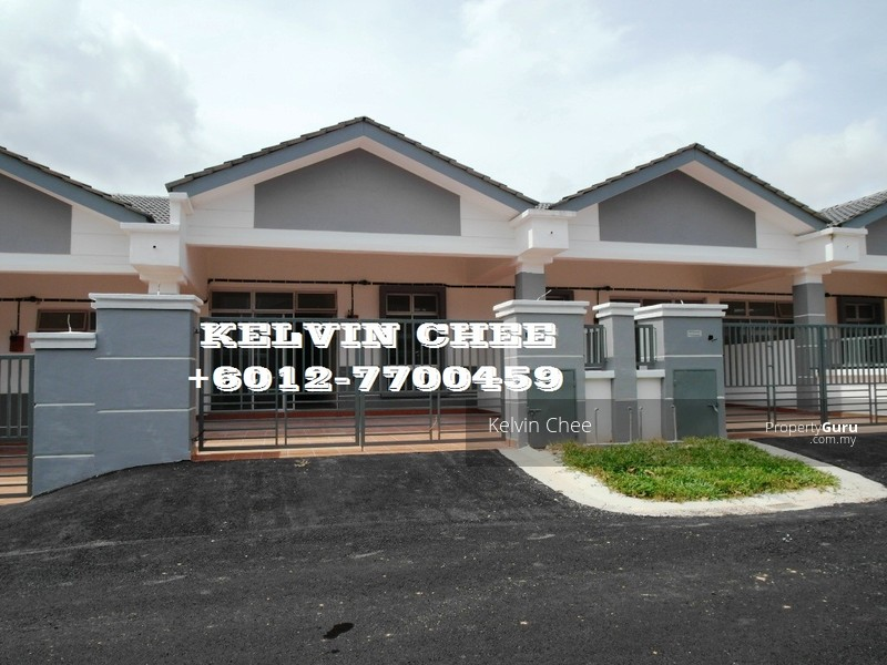 austin residence newly single storey terrace house jalan