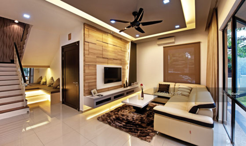 Luxury bungalow with private pool shah alam shah alam for Simple home interior design malaysia