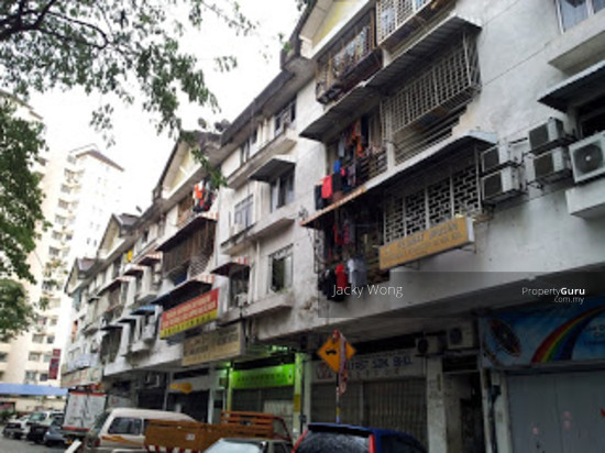 Shop Apartment Kuchai Lama 600sf 2rooms Freehold Shop