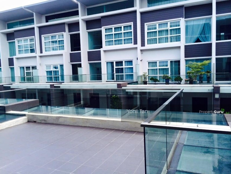 Permai garden 3 gated storey terrace with facilities for 7 terrace penang