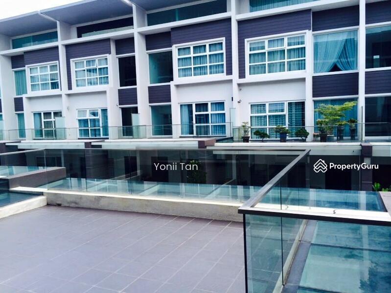 Permai garden corner with side land 3 storey terrace for Terrace 9 classic penang