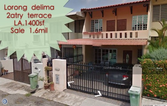 2 storey terrace house at lorong delima lorong delima for 7 terrace penang