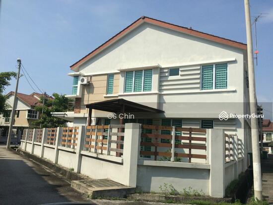 2 story terrace house simpang ampat bukit tambun for Two story house with terrace