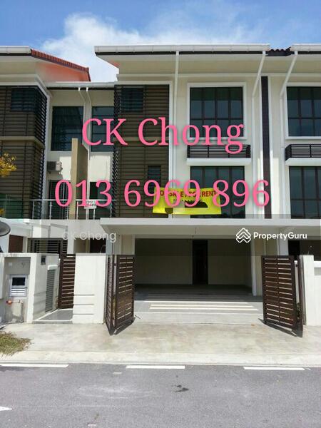 Alam damai 3 storey terrace house jalan damai impian 2 for 3 storey terrace house for sale