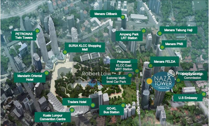 NAZA Office Tower Platinum Park KLCC Platinum Park Persiaran