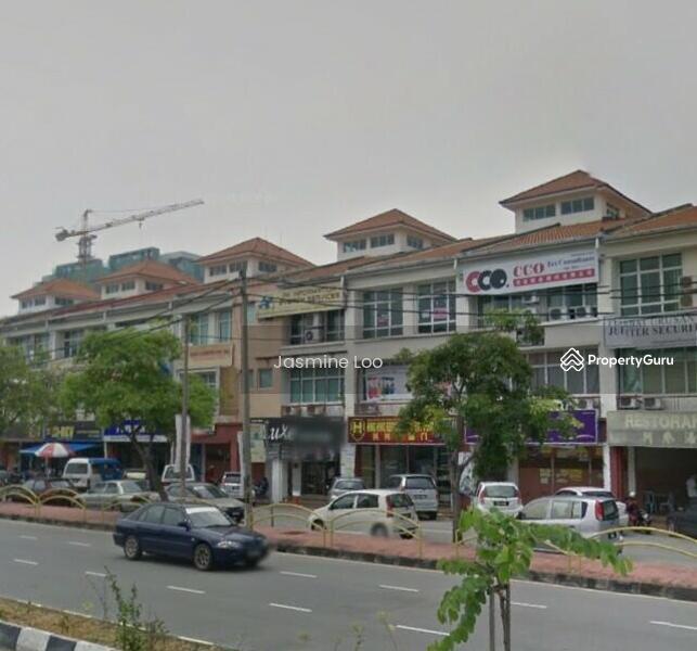 Jalan Pusat Perniagaan Raja Uda