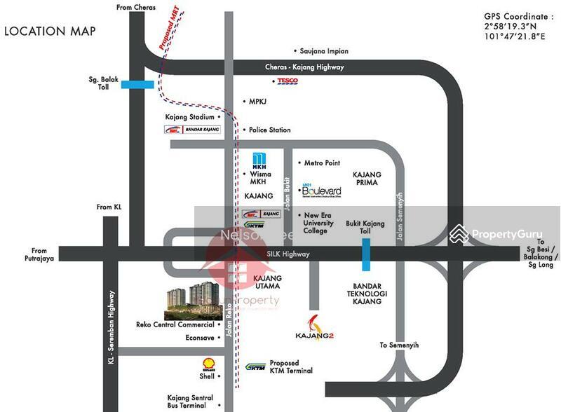 Rm328k Condo Kajang Jalan Reko Saville Kajang Kiara