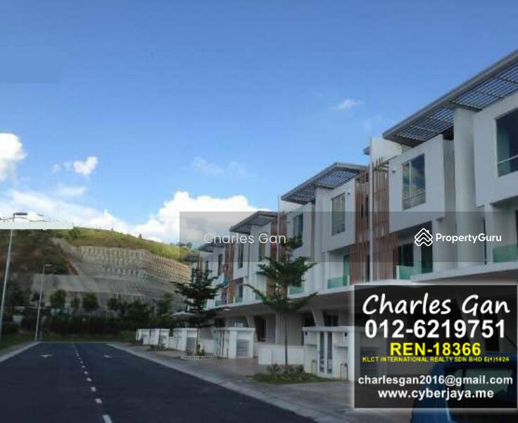 Cassia cyberjaya superlink 3 storey terraced link house for 3 storey terrace house for sale