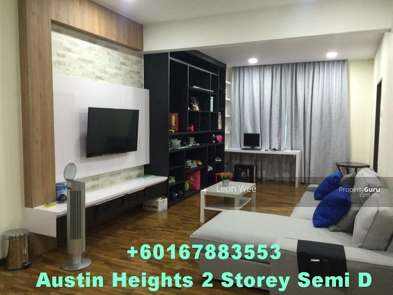Austin Heights Mount JB Johor 5 Bedrooms Semi Detached Houses For Sale By Leon Wee RM 1800000 22958144