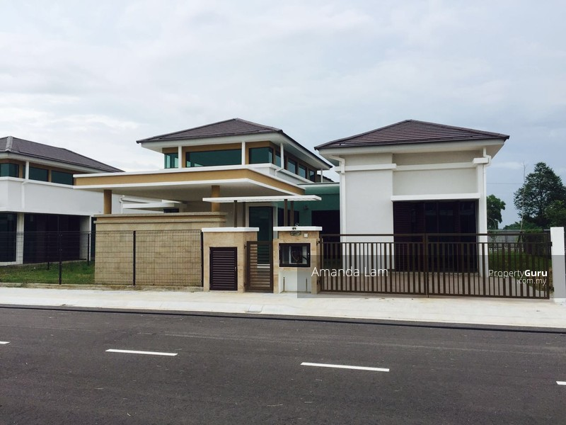 Single storey bungalow bertam la5500sqft persiaran for 2 storey house for sale