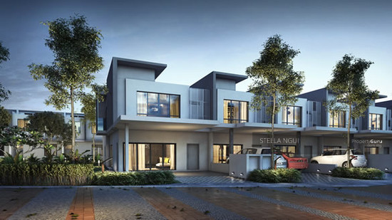 Masterplan new township luxury residences 2 sty house 22 for Best house design malaysia