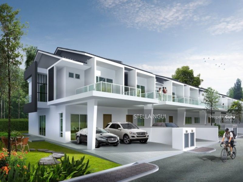 New green homes project double storey landed properties for New house project