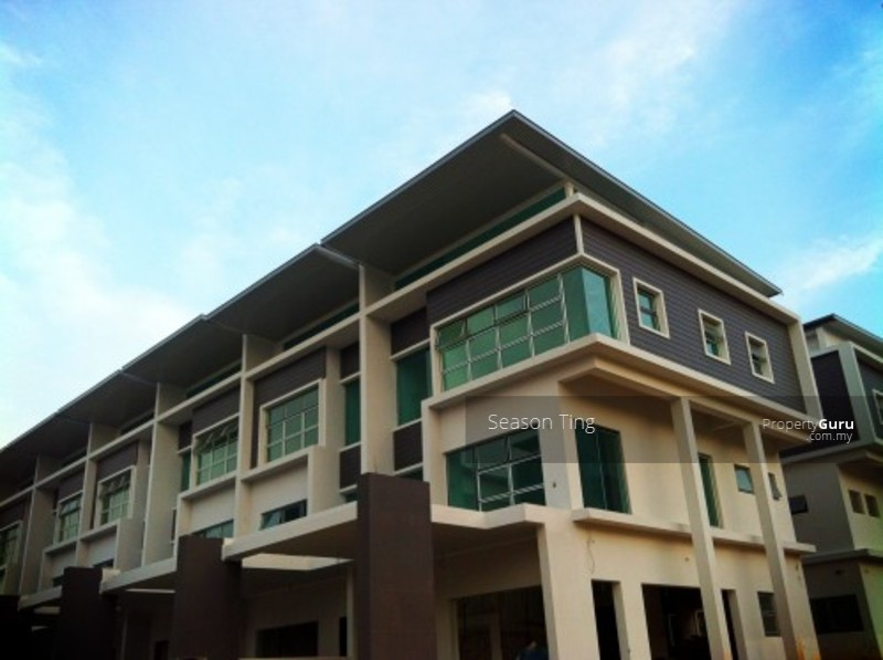 Permai garden 3 storey terrace house tanjung bungah for Terrace house new season