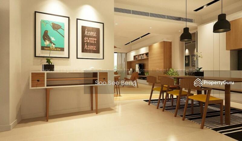 New project near utar and sungai long golf club bandar - Condominium interior design concept ...