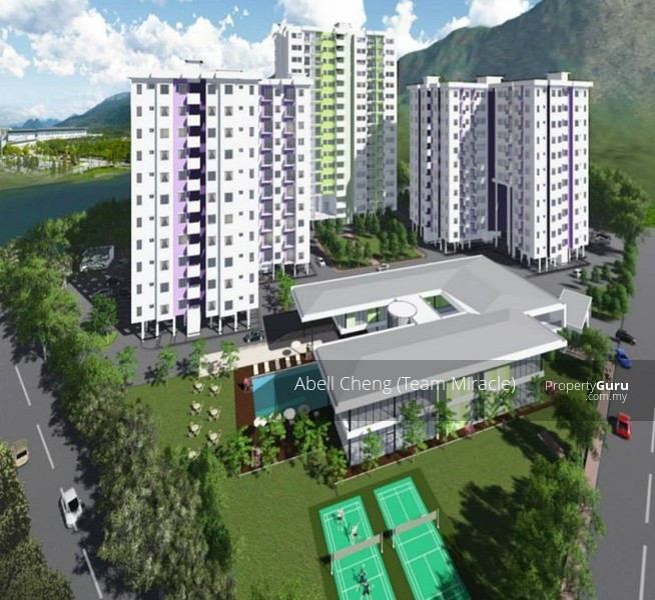 Blue Isle Apartments: Kampar Lake Campus Condominium