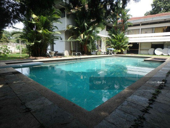 Damansara heights large garden and pool bungalow with for Garden pool bungalow