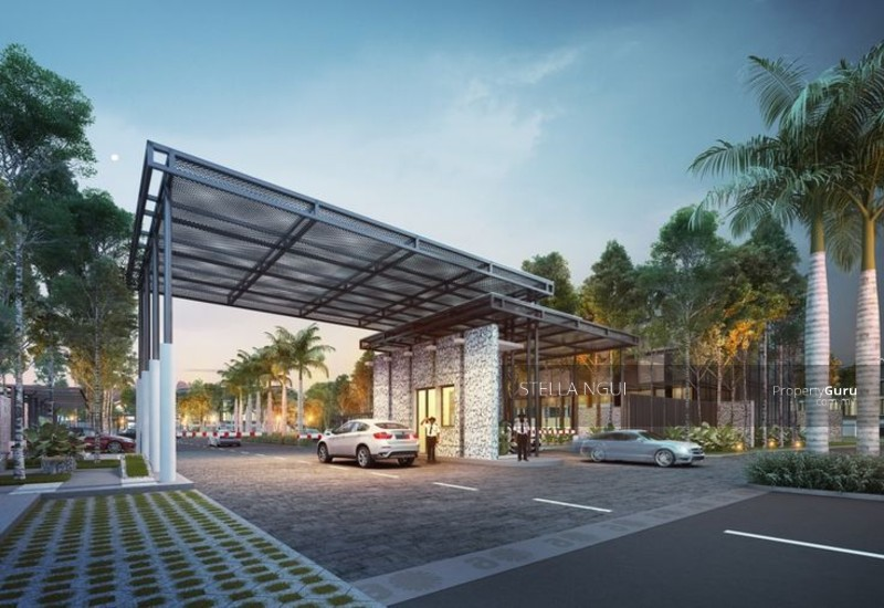 Premium greenery double storey superlink dengkil for Home gateway architecture