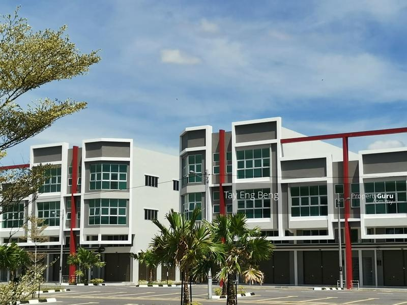 New 2 Sty Shop House (1 CITY)At Juru, Near Bukit Minyak Industrial Area & Auto City #152971682