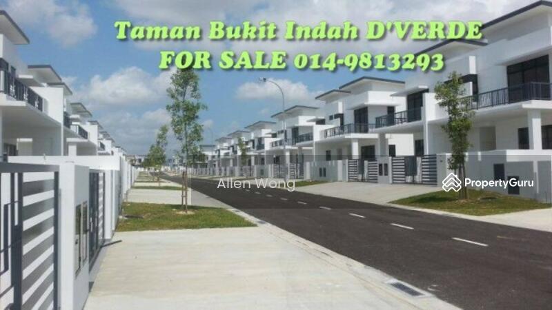 Garden Villa Cluster Corner Nusajaya Jalan Indah 11