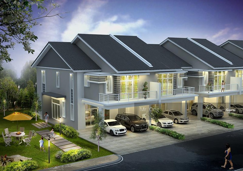 Double Storey Terrace House At Putrajaya