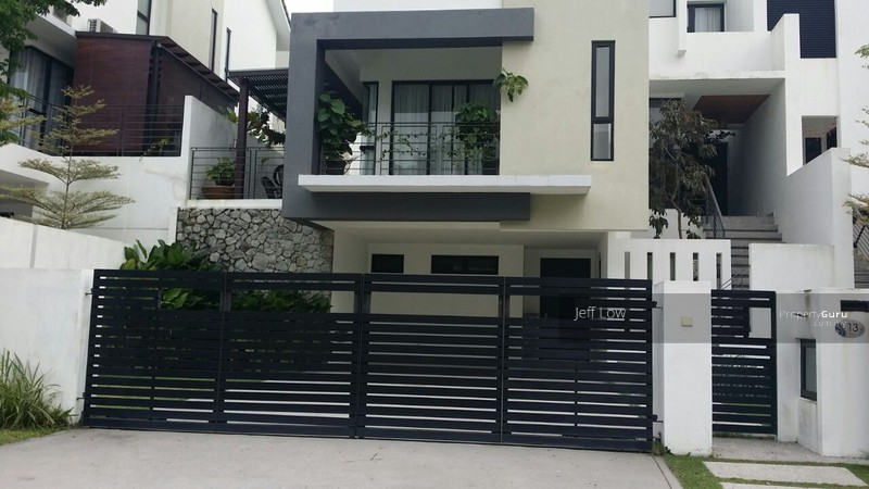 twin palms 3 storey semi d renoid design sungai long kajang - Id In Design