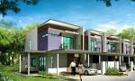 Double Storey Terrace House at Cheras
