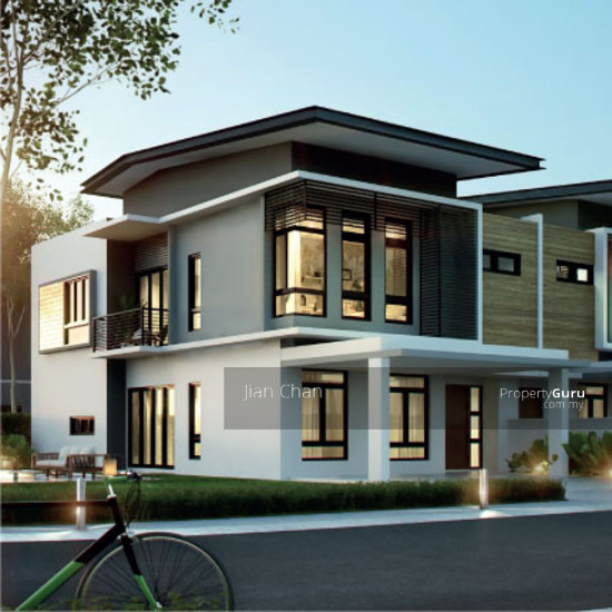 Zero Down Payment New 2 Storey Superlink Garden Homes