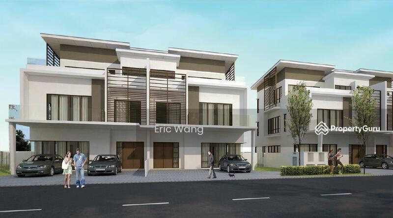 Anggun3 semi d rawang aeon jalan auggun 3 sungai buloh for 3 storey commercial building design