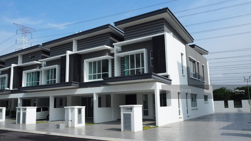 2 storey link house laman vista alam setia alam jalan for 2 storey house for sale